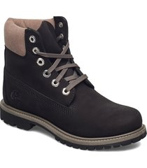 6in premium wp boot l/f- w shoes boots ankle boots ankle boot - flat svart timberland