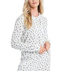 cece floral-print hoodie