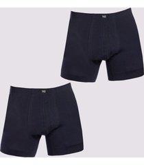 boxer bipack basico azul tais