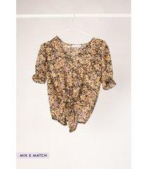 ambika blouse geel 03330