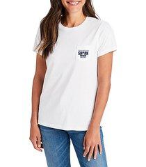 shark crewneck t-shirt