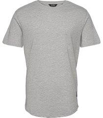 onsmatt life longy ss tee noos t-shirts short-sleeved grå only & sons