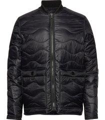 m x.14 oz jacket gevoerd jack zwart peak performance