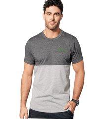 camiseta para hombre gris oscuro mp