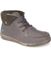 women's cloud adrik bootie, size 9.5-10us - grey