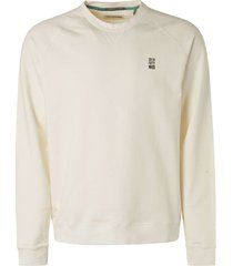 no excess sweater crewneck stone washed offwhite