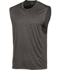 id ideology men's mesh-trimmed sleeveless t-shirt, created for macy's