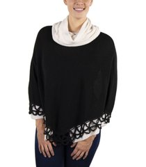 simply natural alpaca poncho petra crochet
