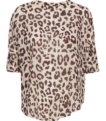 day mio blouses short-sleeved bruin day birger et mikkelsen