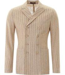 the gigi ziggy pinstripe jacket