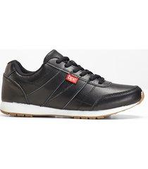 sneaker in pelle (nero) - bpc bonprix collection