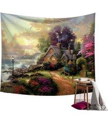 hada del bosque pared de colgante de la tapicería de bohemia hippie banda colcha decoración - # 3
