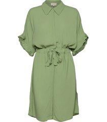 ariana shirt dress boozt knälång klänning grön minus