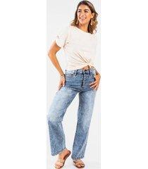 jenn high rise wide leg jeans - medium wash
