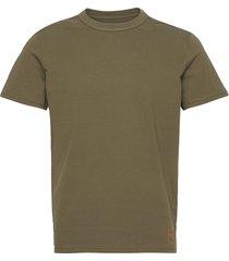basic t-shir t-shirts short-sleeved grön tom tailor