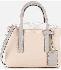 kate spade new york women's margaux mini satchel - blush multi
