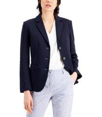 weekend max mara notched-collar blazer