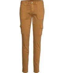 annie cargo pants - baiily pantalon met rechte pijpen bruin cream