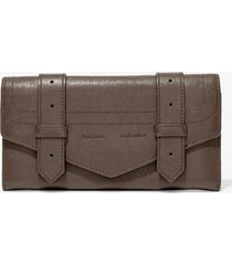 proenza schouler ps1 continental wallet smoke/grey one size