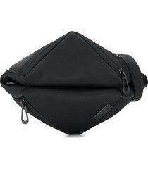côte & ciel tara l logo pouch - black
