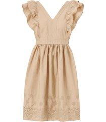 klänning vmlisa ss emb short dress wvn