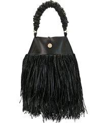 0711 kaia tote bag - black