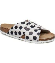 runa sandal shoes summer shoes flat sandals vit cream