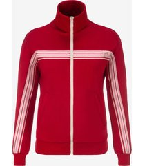 women's track jacket red xs