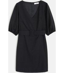 mango short belted dress