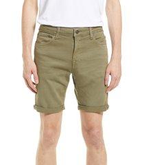 men's jack & jones rick icon ama 558 denim shorts, size medium - green