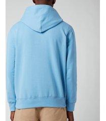 polo ralph lauren men's fleece hoodie - blue lagoon - xxl