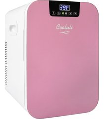 cooluli concord-20ldx compact thermoelectric cooler and warmer mini fridge