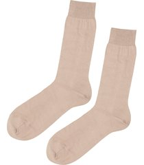 calzedonia - short egyptian cotton socks, 40-41, nude, men