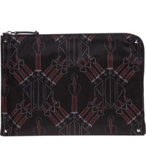 valentino loveblade document holder