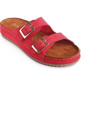 priceshoes sandalia confort dama 162409rojo