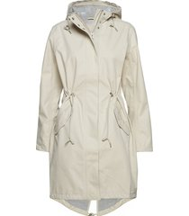 raincoat parka lange jas jas beige ilse jacobsen