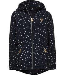 hmlelin softshell jacket outerwear softshells softshell jackets blauw hummel