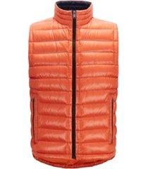 boss men's water-repellent vest