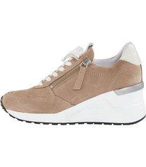 skor med snörning och dragkedja naturläufer mullvad