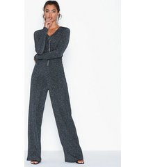 nly trend rib glitter jumpsuit jumpsuits