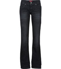 jeans elasticizzati bootcut (nero) - john baner jeanswear