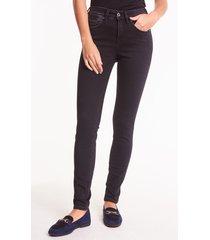 przecierane spodnie jeansowe demi
