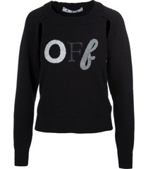 off-white woman black off pullover