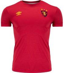 camiseta do sport recife 2019 umbro - masculina - vermelho