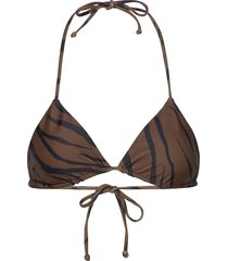 sundar top bikinitop brun faithfull the brand