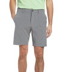 callaway golf(r) stretch golf shorts, size 32 in medium grey heather at nordstrom