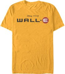 disney pixar men's official wall-e movie logo, short sleeve t-shirt