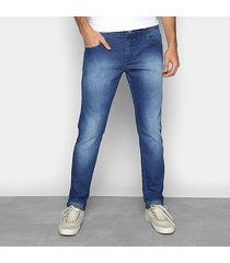 calça jeans forum skinny igor masculina