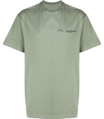 a-cold-wall* casual logo t-shirt - green