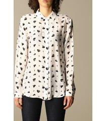 armani exchange shirt hearts print